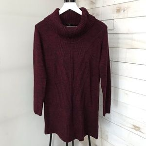AGB Women's Cowl Neck Sweater Size Large